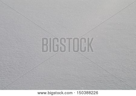 Background In A Pure Snow Close