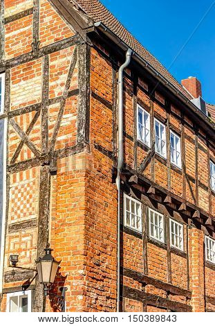 Historic Red Brick Constructed House In Wismar