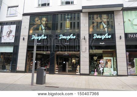 Douglas Brand Store In Leipzig