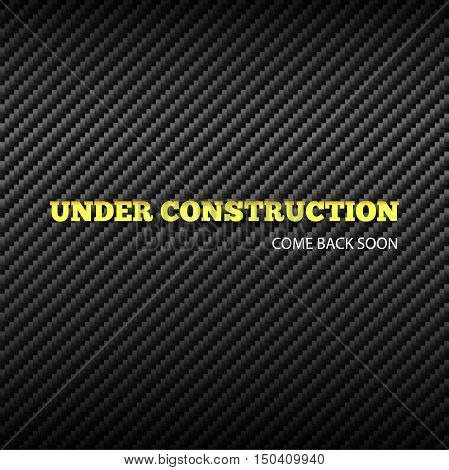 Under construction background. Vector illustration eps 10.