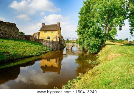 Stogursey Castle In Somerset