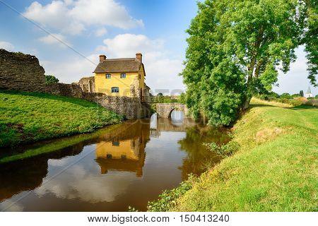 Stogursey Castle In Somerset