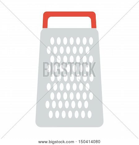 Grater flat icon. Illustration for web and mobile.