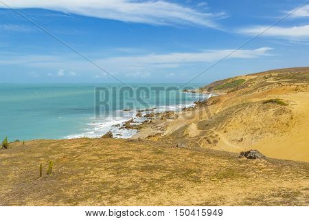 Dunes And Ocean Jericoacoara Brazil