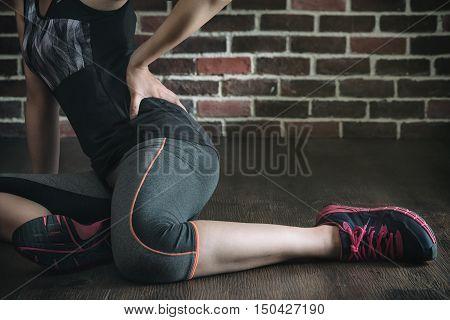 Pushing Her Body Too Far Got Low Back Pain