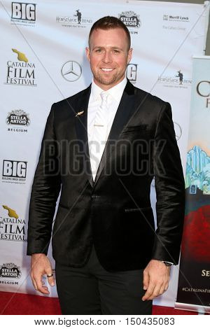 LOS ANGELES - OCT 1:  Christopher Folkens at the Catalina Film Festival - Saturday at the Casino on October 1, 2016 in Avalon, Catalina Island, CA