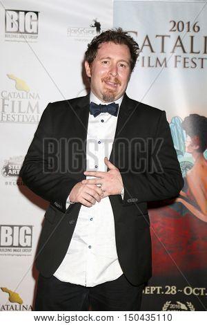 LOS ANGELES - OCT 1:  Anthony CiBlasi at the Catalina Film Festival - Saturday at the Casino on October 1, 2016 in Avalon, Catalina Island, CA