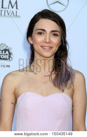LOS ANGELES - OCT 1:  Ella Lentini at the Catalina Film Festival - Saturday at the Casino on October 1, 2016 in Avalon, Catalina Island, CA