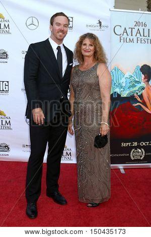 LOS ANGELES - OCT 1:  Spencer Bruttig, Andrea Estrada at the Catalina Film Festival - Saturday at the Casino on October 1, 2016 in Avalon, Catalina Island, CA