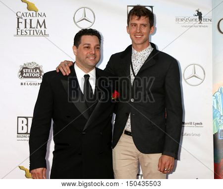 LOS ANGELES - OCT 1:  Ron Truppa, Colby Murray at the Catalina Film Festival - Saturday at the Casino on October 1, 2016 in Avalon, Catalina Island, CA