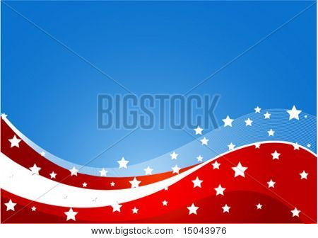 USA flag theme background with place for your copy\text