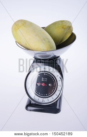 Scales For Kitchen Or Kitchen Scales With Mango.