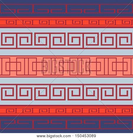 Seamless pattern with Greek pattern for your creativity