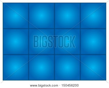 Abstract vector blue background with blend effect
