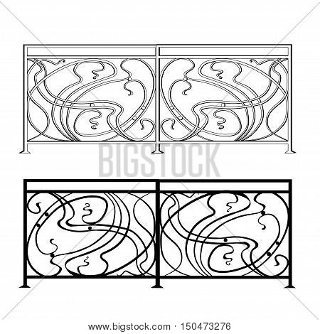 The artistic forging products lattice Wrought Iron Door Fence Window Grill Railing design