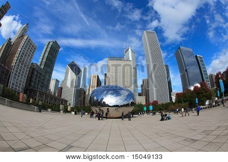 Cloud Gate at Chicago