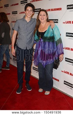 LOS ANGELES - OCT 3:  Milo Manheim, Camryn Manheim at the