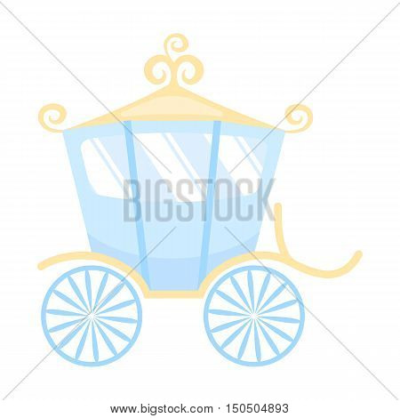 Carriage icon of vector illustration for web and mobile design