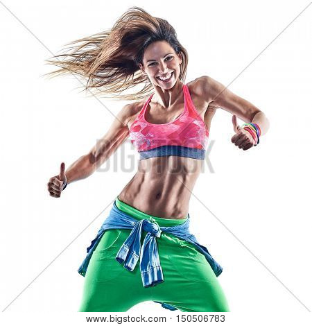 woman fitness excercises dancer dancing