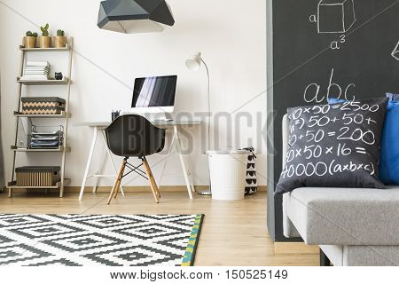 New Home Space For A Student
