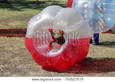 Bubble Football Game