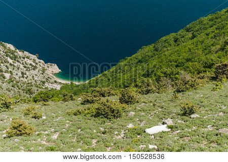 Adriatic Sea, Cres Island, Croatia