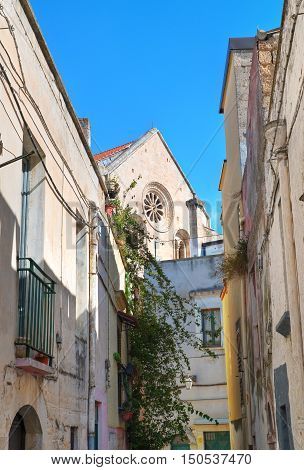 Alleyway of Acquaviva delle fonti. Puglia. Italy.