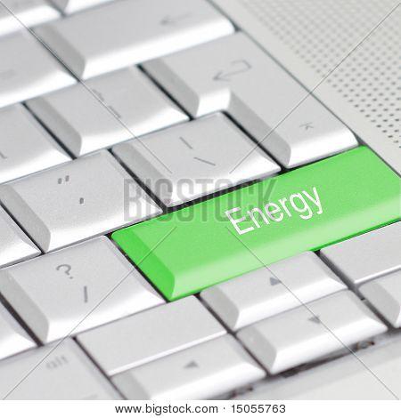 Un teclado con una opción de eco