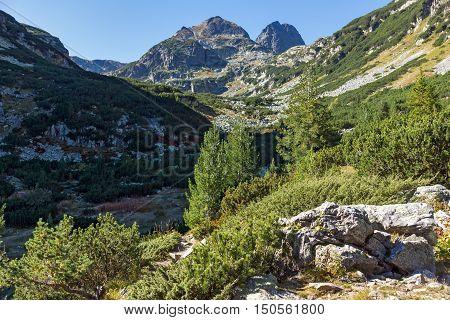 Amazing Panorama of Malyovitsa peak, Rila Mountain, Bulgaria