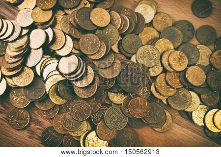 Gold Coins, Gold Coins Background, Business Background