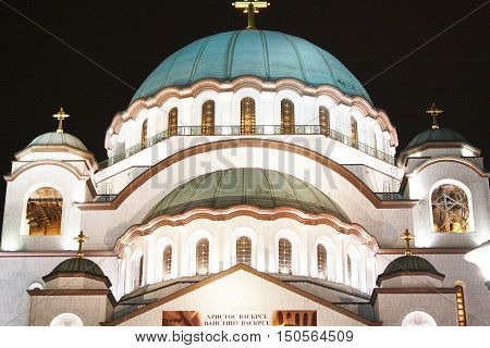 The Church of Saint Sava is a Serbian Orthodox church located on the Vracar plateau in Belgrade.