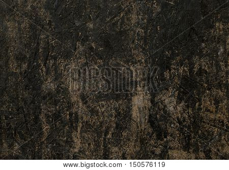 Old black wooden texture with some stipes for background