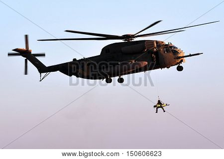 Army Helicopter Rescue