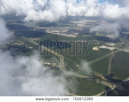 beautiful view of Lake Pontchartrain and the Mississippi River Basin