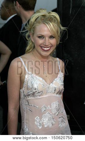 Adrienne Frantz at the Los Angeles premiere of 'Exorcist: The Beginning' held at the Grauman's Chinese Theatre in Hollywood, USA on August 18, 2004.