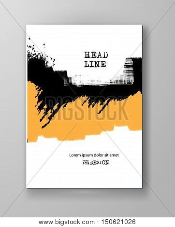 Simple Poster Colour Painting Designs