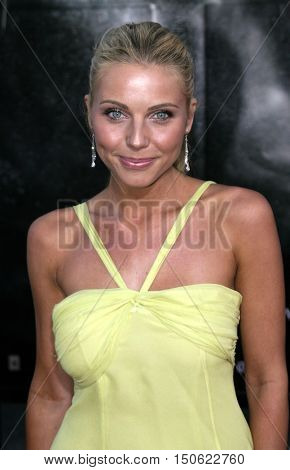 Ivana Bozilovic at the Los Angeles premiere of 'Exorcist: The Beginning' held at the Grauman's Chinese Theatre in Hollywood, USA on August 18, 2004.