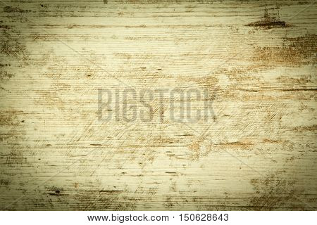 Wood plank in cream color aged for background