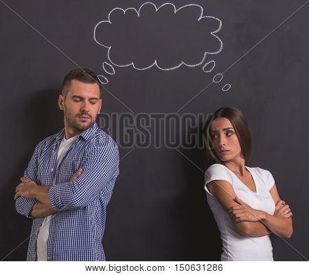 Beautiful Emotional Couple