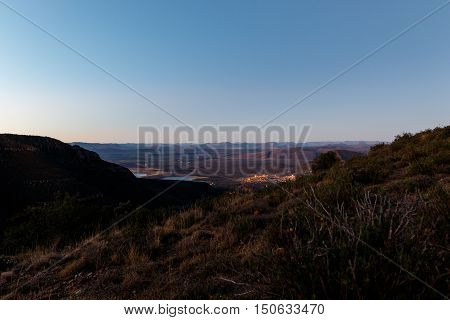 Overlooking The Town - Graaff-reinet, Valley Of Desolation