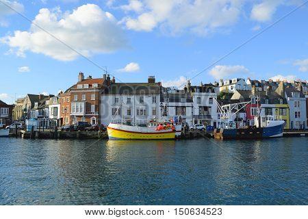 Custom House Quay at Weymouth Harbour, Dorset