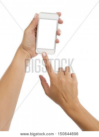Touching on Smartphone Isolated