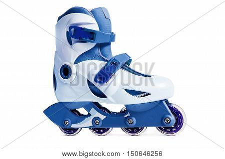 Inline skate isolated on a white background.