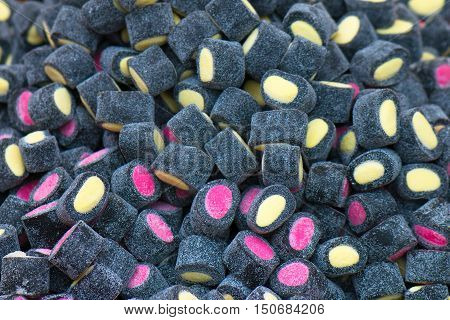 Chewy Candy Covered Licorice