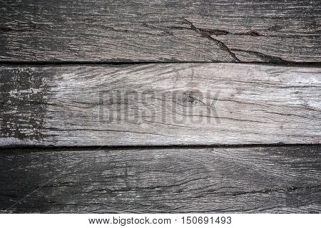 grunge old wood wall texture as background
