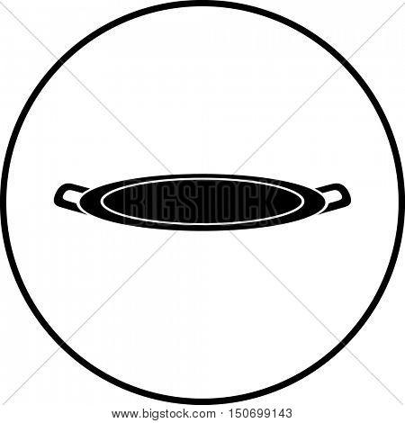 serving tray symbol
