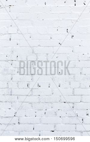 Old White brick wall. Texture, Backgrounds,  vintage