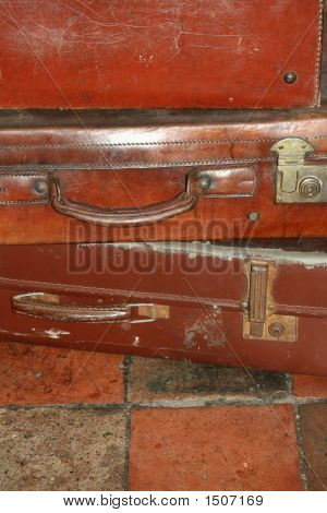 Suitcase On Quarry 2