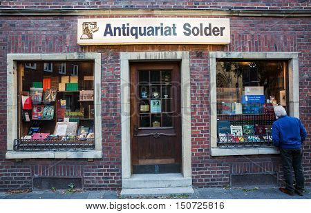 Book Shop Of The German Tv Series Wilsberg