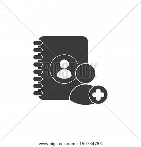 directory telephone with social media icon vector illustration design